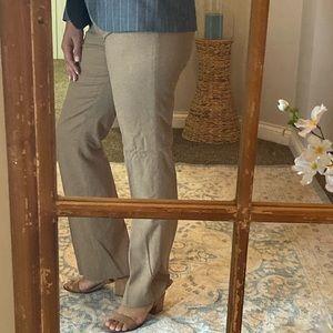 Wool beige slacks